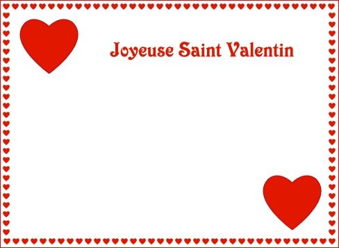 Enveloppe papier a lettre parchemin page 4 - Carte st valentin gratuite a imprimer ...